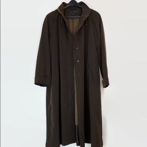 Gallery Full Length All-Weather Coat, Hood, Lining